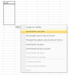 Comment créer des listes personnalisées sous Excel