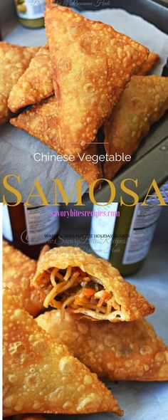 .Chinese Vegetable Samosa