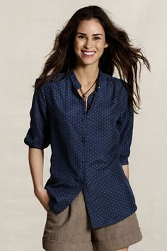 polka dots are a touch of whimsy that every lady should have in their wardrobe. plus the silk keeps it sophisticated, not elementary.