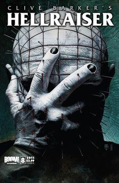Hellraiser comic book cover.