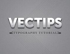 Illustrator: Polished Raised Type Treatment