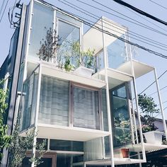 House NA in Tokyo, Japan by Suo Fujimoto Architects.