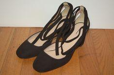 JCrew $248 Sophia Ankle-Wrap Pumps in Suede Sz 6.5 Black Heels G0919 AVL | Clothing, Shoes & Accessories, Women's Shoes, Heels | eBay!