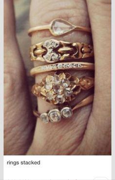 Rings on rings on rings. Love