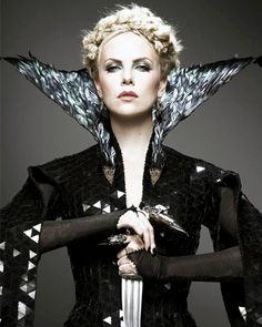 She may once have been the fairest of them all, but we are not fooled by evil Queen Ravenna's looks!