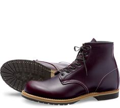 Part of the Beckman collection, the 9011 is a 6-Inch, round toe style boot made from our exclusive Black Cherry Featherstone dress leather. Classic in look, a bit of polish keeps them looking sharp.