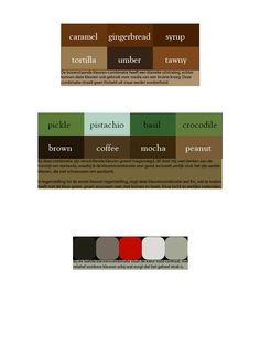 Dit is mijn eerste kleuren combinatie, dit is de eerste stap geweest naar mijn uiteindelijke kleurencombinatie