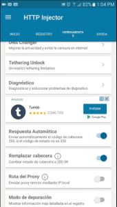 Nuevo Server http injector para Telcel México
