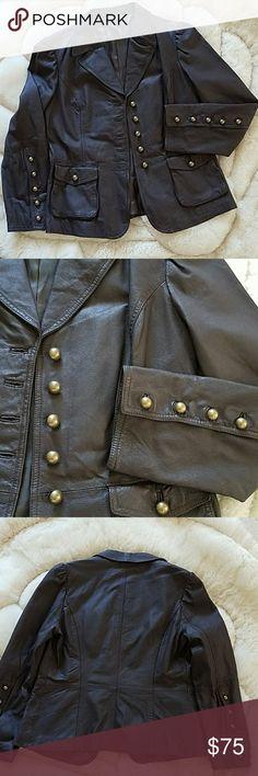Leather jacket New Cami Jackets & Coats Blazers