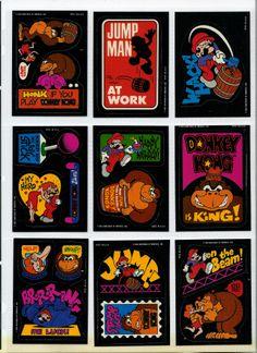 donkey kong cards Super Mario Toys, Super Mario Art, Video Game Decor, Video Game Art, Donkey Kong, Nintendo, Mega Drive Games, Pop Culture Art, Retro Video Games