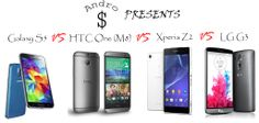 VERSUS : Samsung Galaxy S5 vs HTC One (M8) vs Sony Xperia Z2 vs LG G3