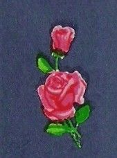 15 Minature Pink Rose and Rose Bud Craft by decorativedecals, £1.30