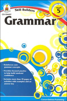 Skill Builders Grammar Gr 5   Main photo (Cover)