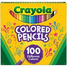 Crayola 50count Colored Pencils Multicolor Walmart and Products