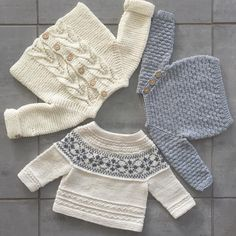 Baby Knitting Patterns For KidsFree baby knitting pattern set including a lace cardigan and booties.Knit Baby Cardigan and Sweater Vintage Pattern Lace v-neck knitting pullover top retro clothes girlNo photo description available. Knitting For Kids, Baby Knitting Patterns, Baby Patterns, Free Knitting, Crochet Patterns, Knitted Baby Cardigan, Knitted Baby Clothes, How To Purl Knit, Baby Sweaters