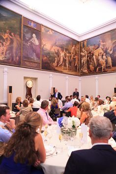 toasts in the Great Room RSA House  London Wedding
