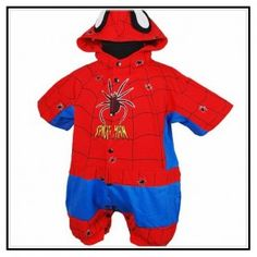 Spiderman Baby Clothes Uk