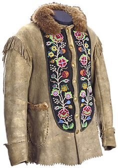 buckskin clothing | The Metis: Religion / Ceremonies / Art / Clothing