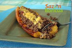 My Puerto Rican Food Canoas de platanos maduros