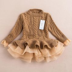 Meisjes Sweater Tutu jurk Holiday Dresses door aLittleLaDiesCouture