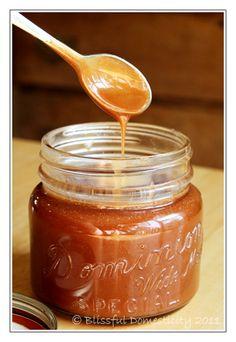 Salted Caramel Sauce- Yum.