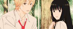 anime, gif, and kimi ni todoke image