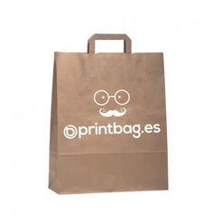ec6105f60 Bolsas de papel kraft pequeñas personalizadas ideales para todo tipo de  tiendas y negocios. Impresión