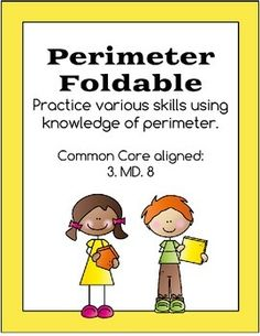 This fun foldable is a perfect way for students to review various ways to calculate and use perimeter.Common core aligned - 3.MD.8  Works well with area flip book found at https://www.teacherspayteachers.com/Product/Area-Flip-Book-1582038Additional practice available at:https://www.teacherspayteachers.com/Product/Area-and-Perimeter-1722109Clip art available at: http://frompond.blogspot.com