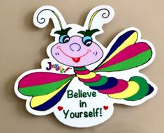 Believe in Yourself! #self #belief Great Gifts For Men, Believe In You, Best Gifts, Joy, Stickers, Prints, Sticker, Happiness, Printmaking