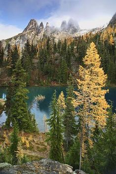 Blue Lake Hiking Trail, Washington State