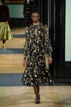 Erdem Autumm/Winter 2018 Ready To Wear | British Vogue