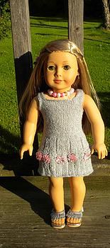"Free summer dress pattern for 18"" dolls"