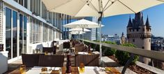 Flemings Deluxe Frankfurt - top Rooftop Location Event Inc #rooftop #party #overthetop #drink #abovethecity #event #location #eventinc #veranstaltung #restaurant #special #perfect #view #frankfurt #deutschland