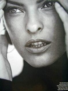 Linda Evangelista, 1996
