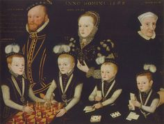Edward 3rd Lord Windsor and his family - User:PKM/icon - Wikimedia Commons