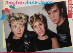 Stray Cats, Orchestra, Rockabilly, Boy Bands, 1970s, Teen, Slim, Japan, Music