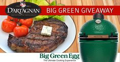 Grill Masters & Meat Lovers... Enter by 6/23/17 for a chance to win a Large Big Green Egg Prize Package (valued at $1140), PLUS a $500 D'Artagnan Online Gift Certificate. No purchase necessary.