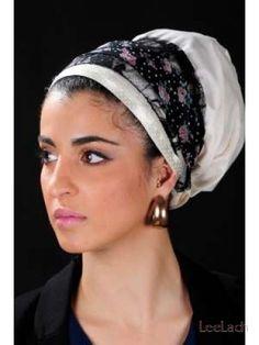 black pearl headscarf