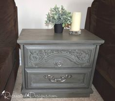 I am absolutely loving the new Fall/Winter line from Country Chic Paint.. this one is Nocturnal.