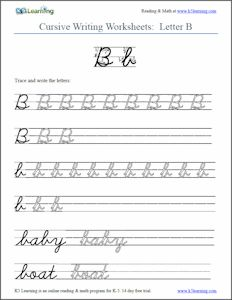Printables Learn To Write Cursive Worksheets cursive writing worksheet back to the index enchanted learning also available are words and sentences worksheets practice your penmanship with these handwriting from