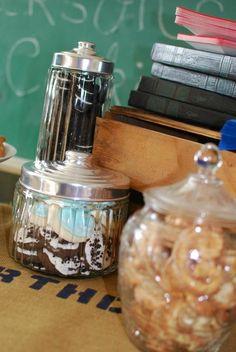 Vintage Milk & Cookies Birthday