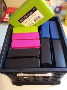 Use Index Card Holders for card sort activities.
