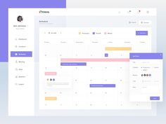 So in this post I have compiled a list of 50 Best Schedule App UI Design Examples that will give you the inspiration you need to create schedule app that stand out. Dashboard Interface, Web Dashboard, Ui Web, Dashboard Design, Web Design, App Ui Design, Interface Design, Graphic Design, Design Ideas