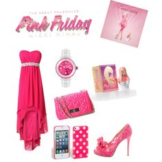 Step into a Bright New World with Pink Friday Nicki Minaj, created by melissalank on Polyvore