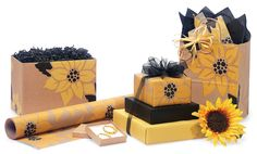 100% Recycled Sunflower Collection by Nashville Wraps.