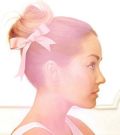 bun and bow #updo