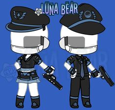 , Justice is now served with these exquisite uniforms. Couple Outfits, Club Outfits, Boy Outfits, Manga Clothes, Drawing Clothes, Chibi Girl Drawings, Police Outfit, Anime Drawing Styles, Clothing Sketches