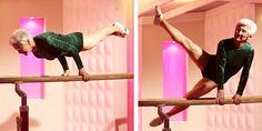 86 år gammal utför hon en gymnastikrutin som skulle göra en 20-åring avundsjuk. Otroligt!