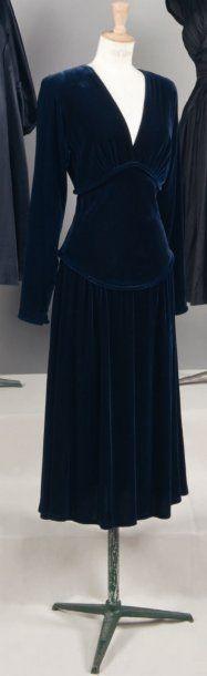 PAQUIN   Haute couture, No. 50596, circa 1940