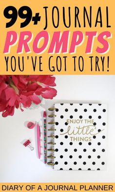 Read here for over 99 inspiring and motivating journal prompts to help you reevaluate your entire life! #journalprompts #prompts #journaling #writing #gratitude Journal Prompts, Writing Prompts, Bullet Journal Printables, Day Planners, Planner Pages, Journal Inspiration, Gratitude, Journaling, How To Plan